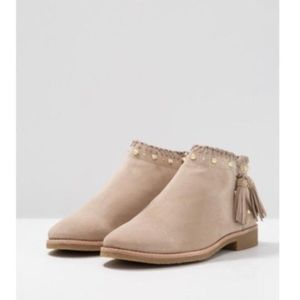 Kate Spade Natural Bowie Boots/Booties /in